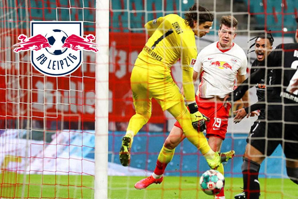 """Sörloths Last-Minute-Bude für RB Leipzig stößt Gladbach sauer auf: """"Verstehe, dass man darüber diskutieren kann"""""""