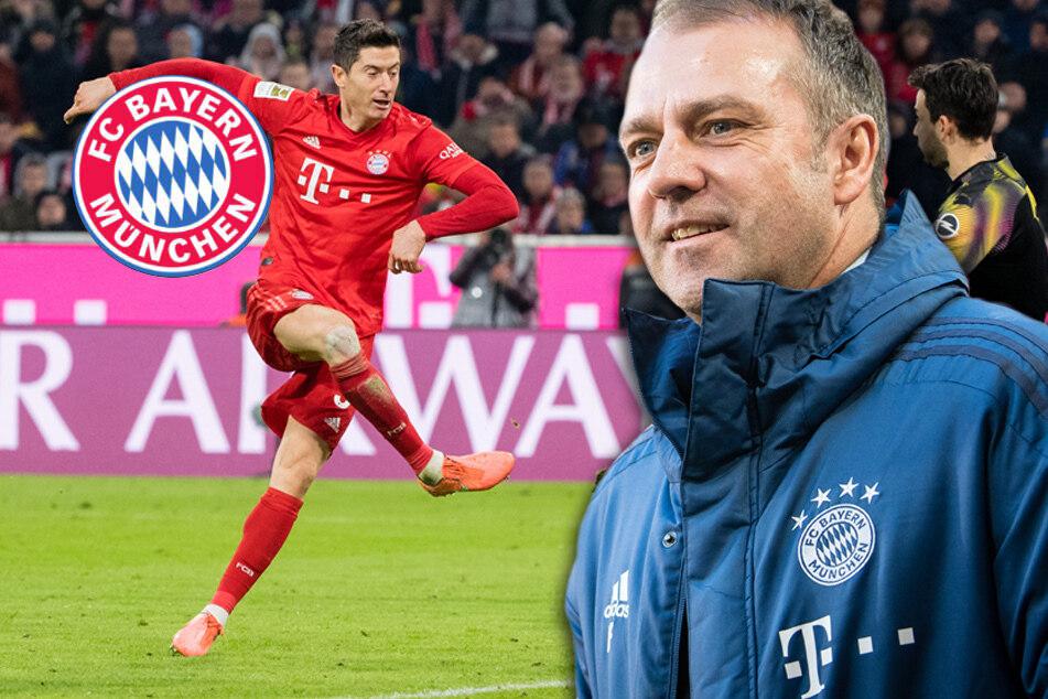 """Flick traut Lewandowski Müllers 40-Tore-Marke zu: """"Alles ist machbar"""""""