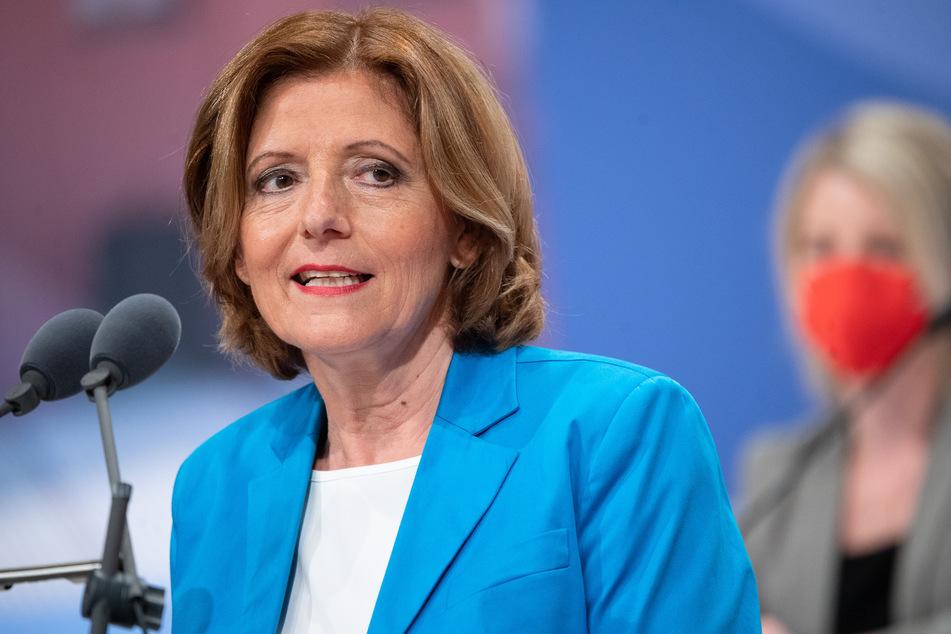 Malu Dreyer (60, SPD), die Ministerpräsidentin von Rheinland-Pfalz.
