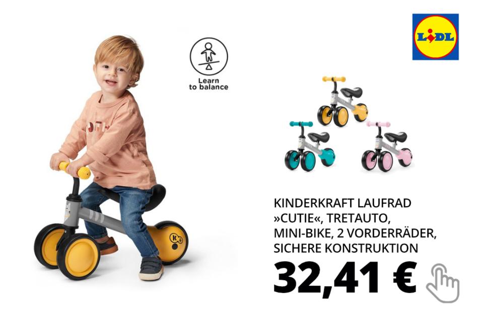 nur online: Kinderkraft Laufrad