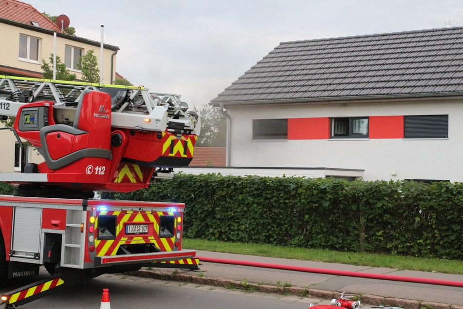 Leipzig: Klimagerät in Flammen: Zwei Verletzte bei Brand nahe Leipzig