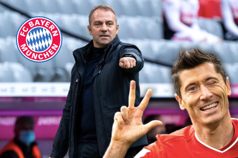 """FC Bayern: Lewandowski überrascht Flick, Ausfall von Davies """"tut weh"""""""