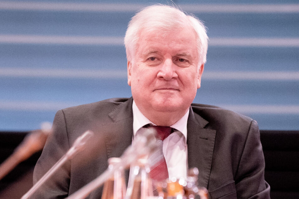 Bundesinnenminister Horst Seehofer (71, CSU).