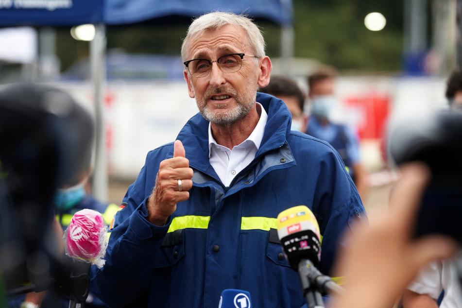 Armin Schuster (60, CDU) leitet das Bundesamt für Bevölkerungsschutz und Katastrophenhilfe.