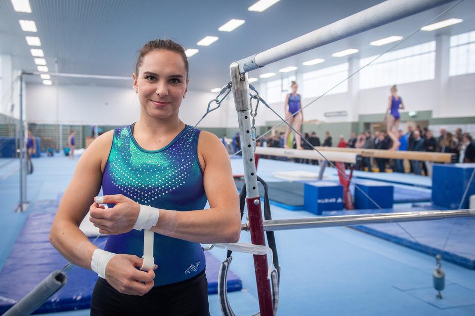 Olympia-Kandidatin Sophie Scheder (24) startete mit zwei weiteren Turnerinnen eine Spendenaktion für die erst kürzlich entlassene Gabriele Frehse (60).