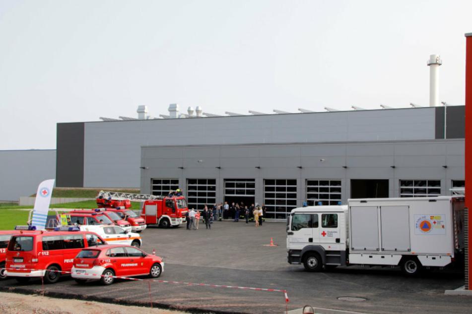 Mit Übungsturm, Trümmerfeld & Co.: Neues Feuerwehrtechnisches Zentrum in Chemnitz eröffnet