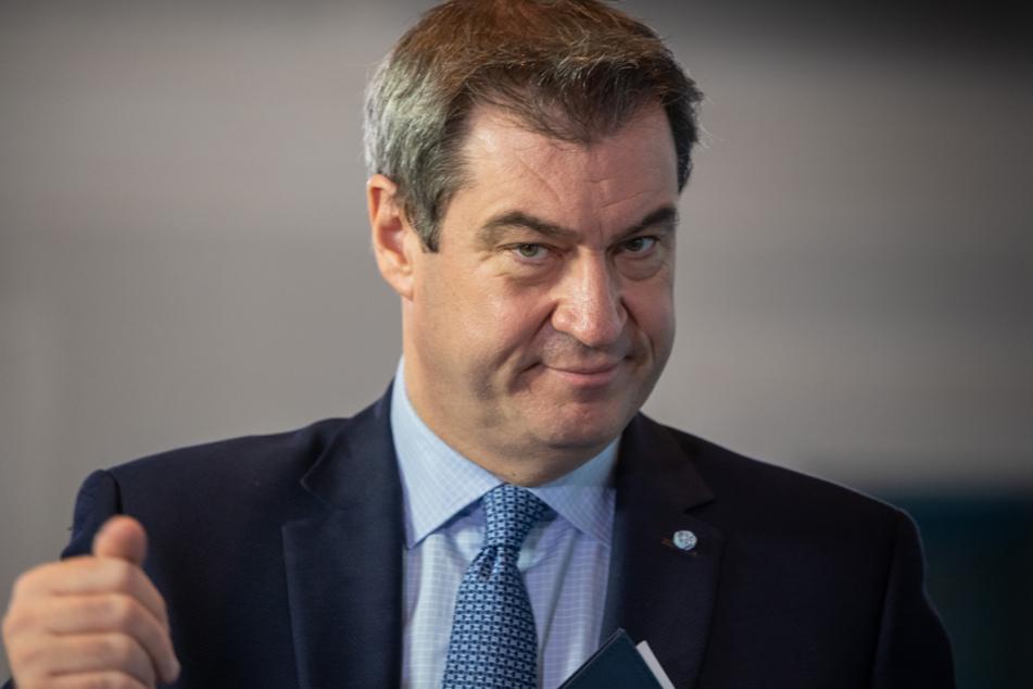 Bayerns Ministerpräsident Söder könnte bald noch mehr Lockerungen verkünden. (Archiv)