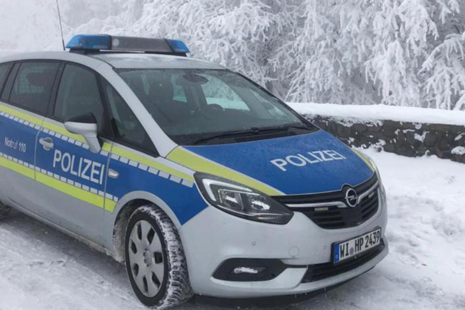 Das Bild zeigt einen Screenshot vom Twitter-Profil der Polizei Osthessen vom Samstagmorgen.