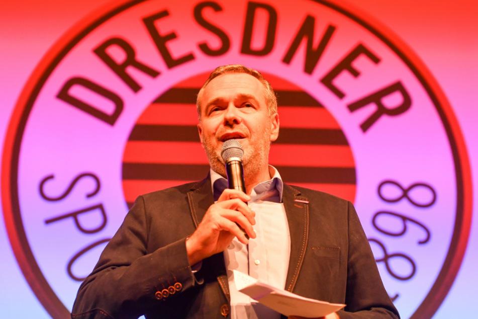DSC-Vorstandsboss Jörg Dittrich muss jetzt die Krise managen.