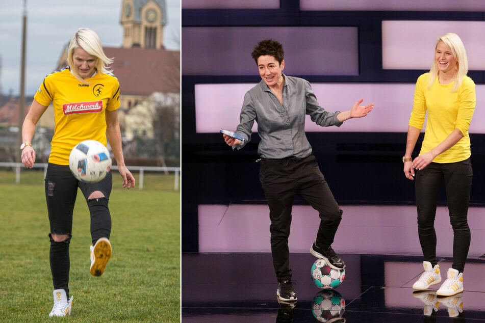 Kathleens Nacht im ZDF-Sportstudio: Dynamo-Fan verzichtet auf Autogramme der RB-Stars