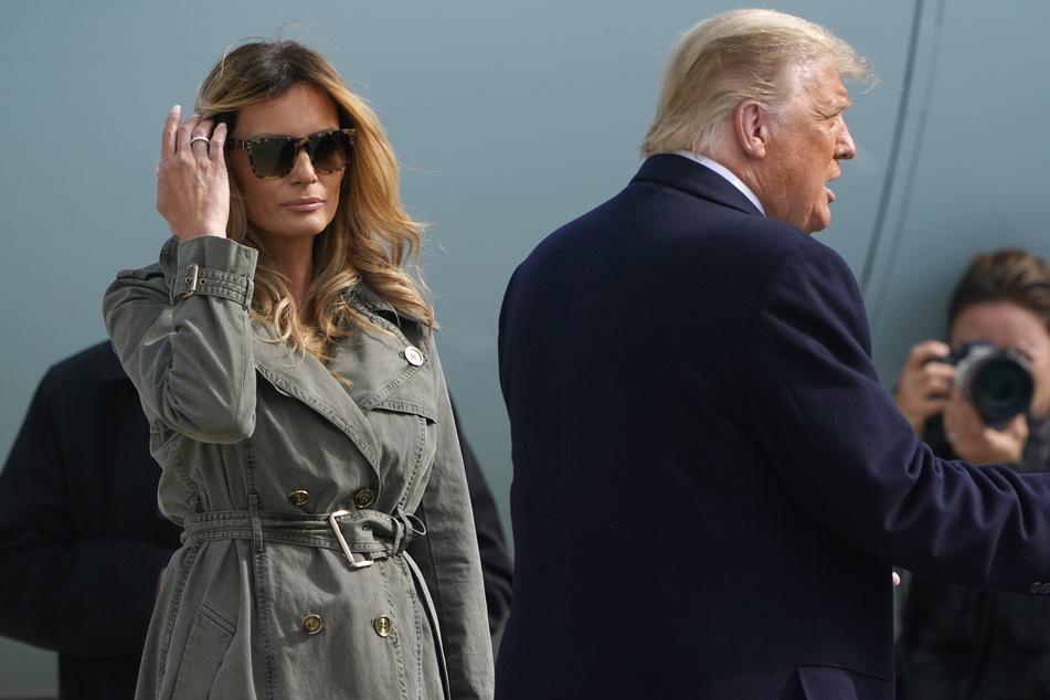 Allzu verliebt wirken die Trumps in der Öffentlichkeit nicht gerade. Womöglich steht ein Ende ihrer Ehe kurz bevor.