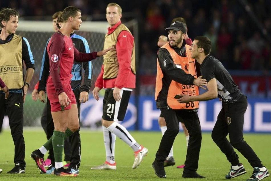 Ordner löscht Selfie von Ronaldo-Fan und UEFA ermittelt