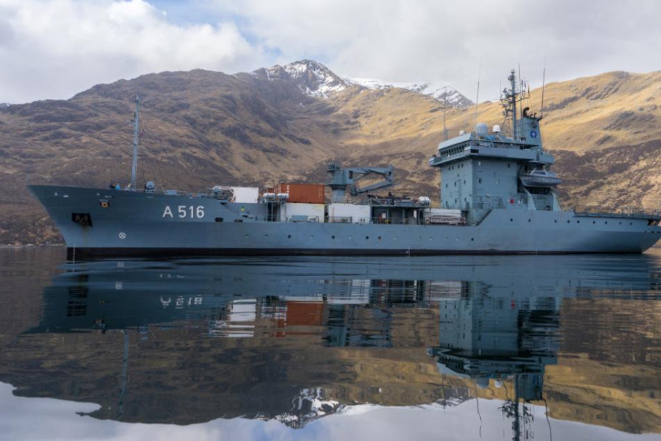 """Verlegung der """"Donau"""": Kriegsschiff bekommt nach 26 Jahren neuen Heimathafen"""