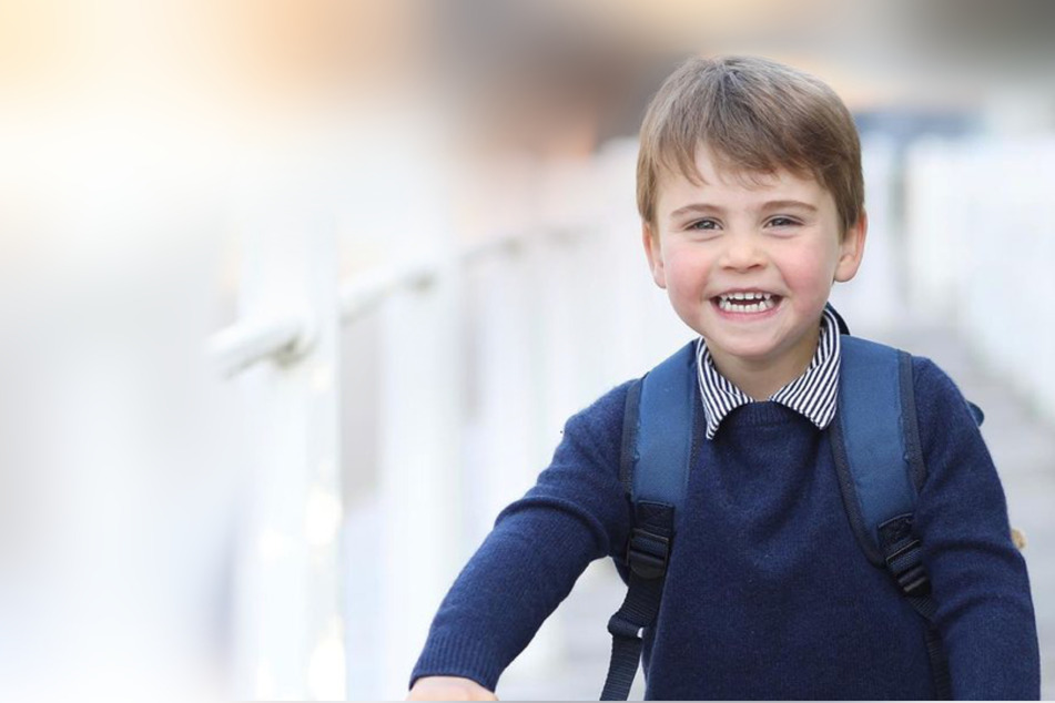 Prince Louis turns three! William and Kate's youngest shows off shiny new wheels