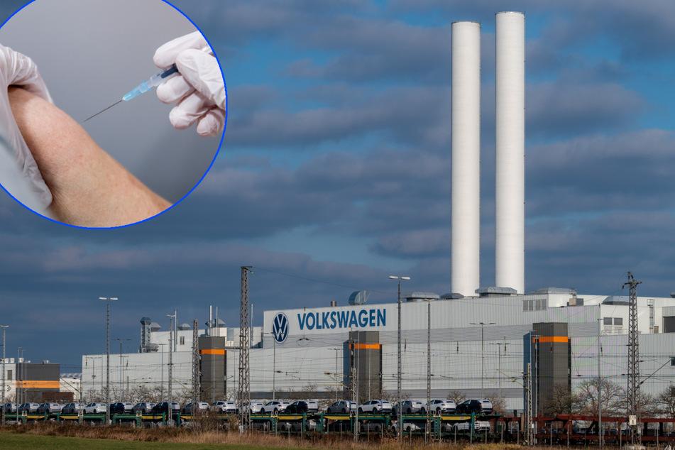 Volkswagen Sachsen beginnt mit Corona-Impfungen in der Belegschaft