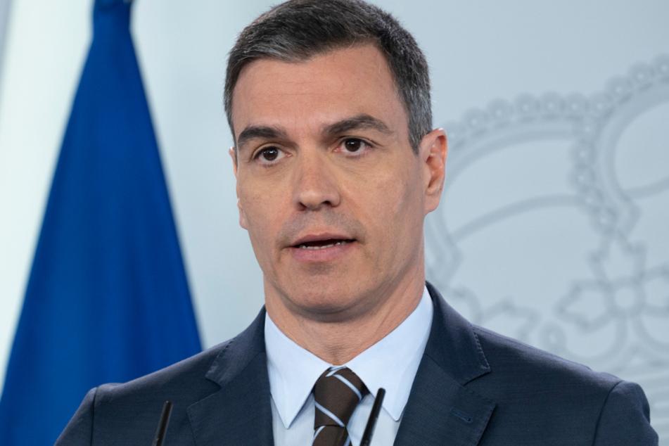 Spaniens Ministerpräsident Pedro Sánchez (48).