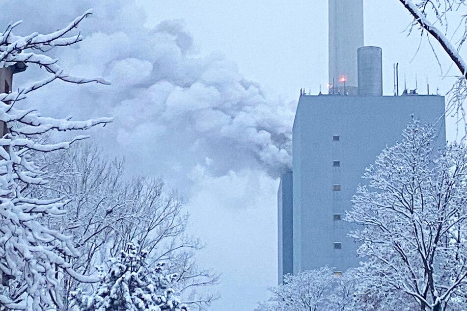 In einem Kraftwerk des Versorgers Uniper in Nürnberg hat es am Montag gebrannt.