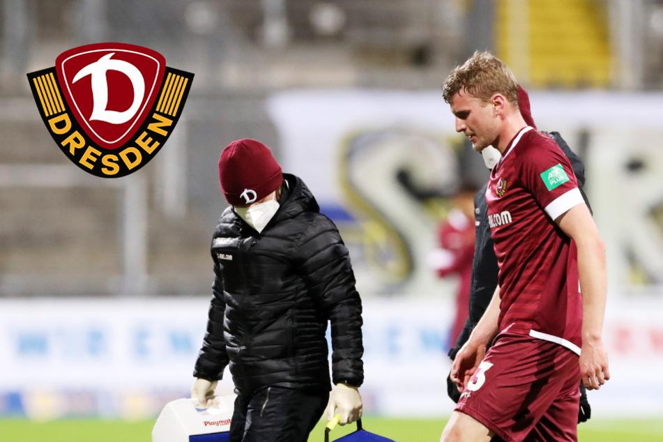 Dynamo: Verletzung von Daferner würde im Endspurt mächtig schmerzen