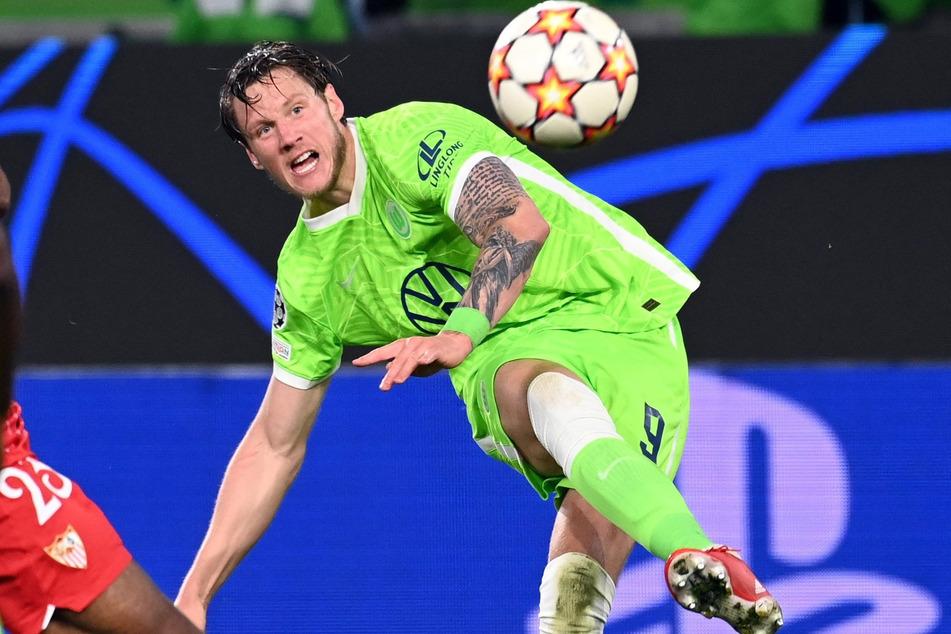 Wolfsburgs Torjäger Wout Weghorst (29).