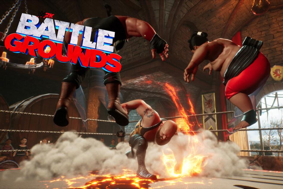 """""""WWE 2k Battlegrounds"""": So unterhaltsam kann Wrestling mit Karikaturen sein"""