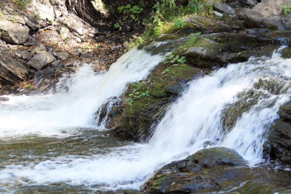 Ein Teil des wilden Flusses Ostravice in Tschechien. (Symbolbild)