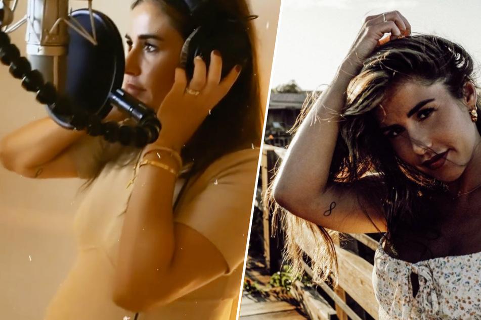 Sarah Engels den ganzen Tag im Tonstudio: Können Fans neue Musik erwarten?