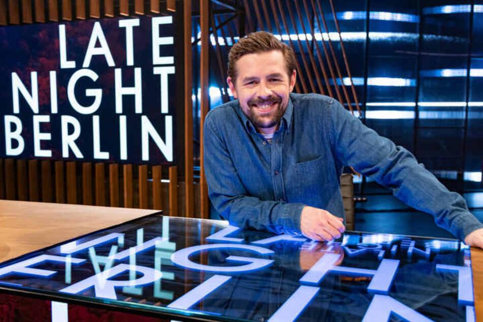 """Klaas Heufer-Umlauf (38) ist mit """"Late Night Berlin"""" zurück aus der Sommerpause."""