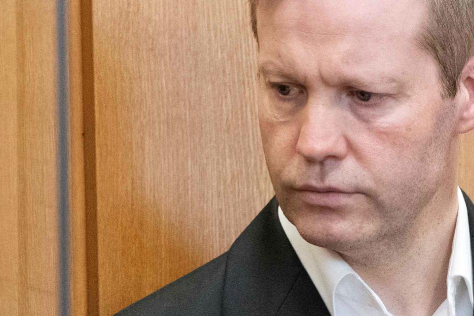 Der Rechtsextremist Stephan Ernst (Foto vom 27. August) wird des Mordes an dem Kasseler Regierungspräsidenten Walter Lübcke beschuldigt.