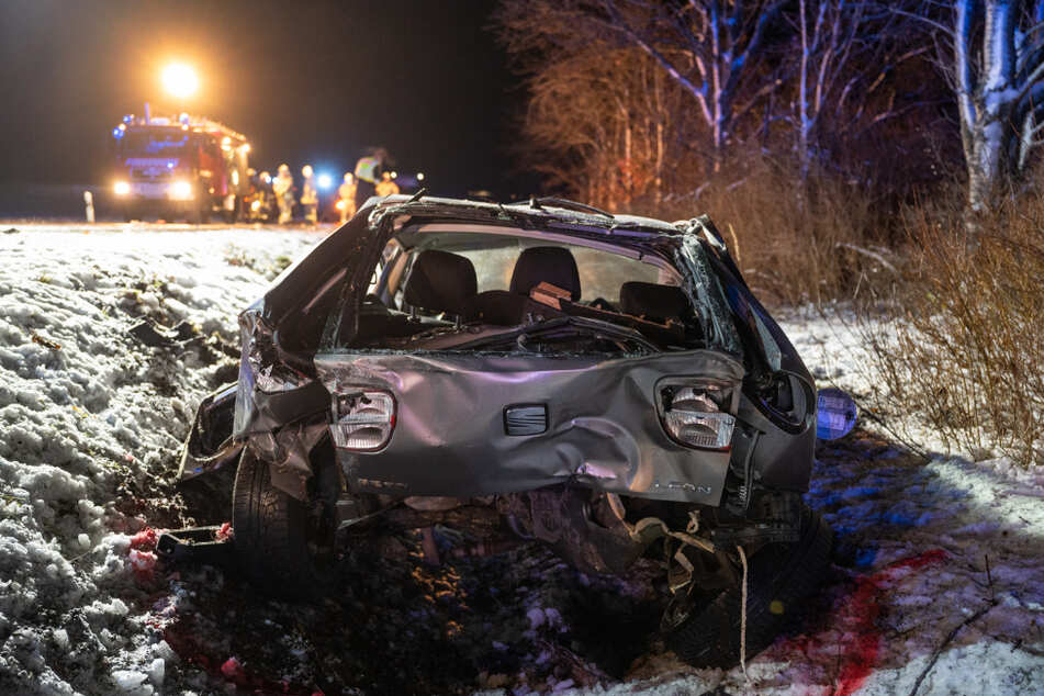 Sie wären wohl erfroren: Polizei findet durch Zufall zwei lebensgefährlich verletzte Männer