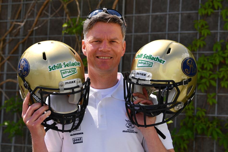 Coach Ulrich Däuber freut sich riesig, dass seine Monarchs endlich wieder spielen dürfen.