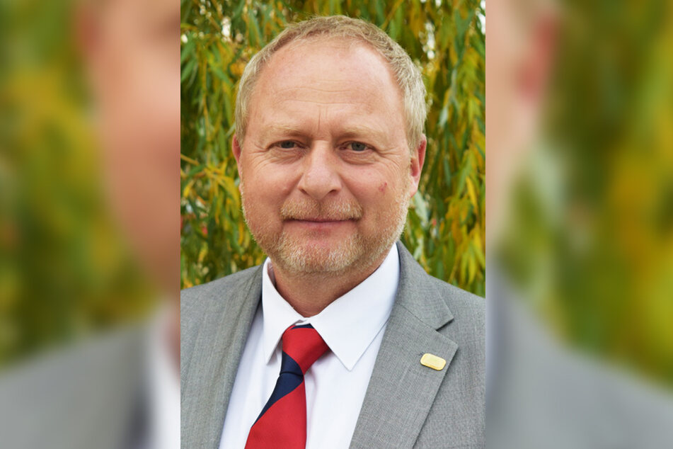 Tommy Brumm (53) ist der Chef von Sachsens Kleingärtnern.