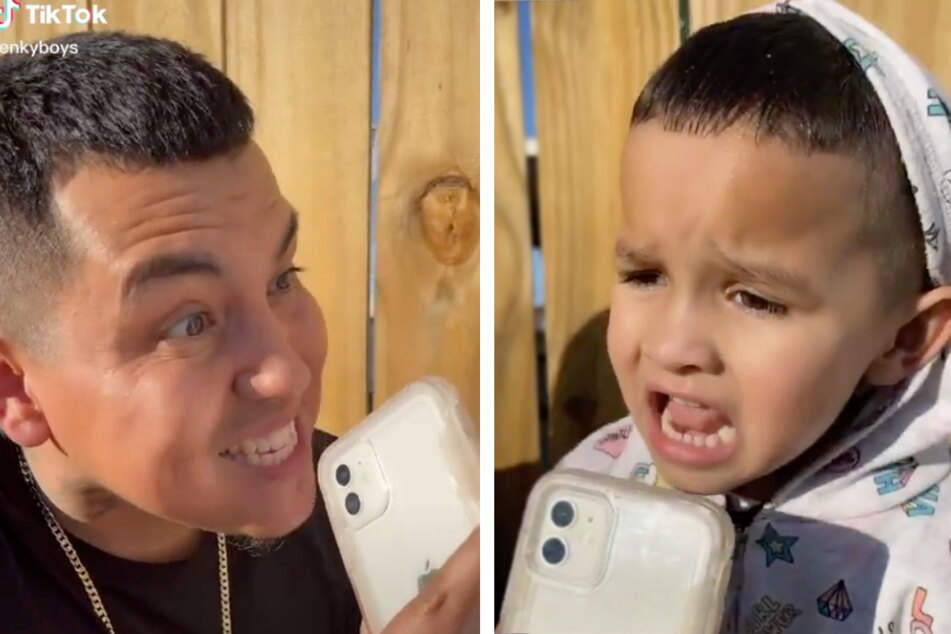 TikTok father-son duo get attention from Hollywood after viral Capitol attack sketch