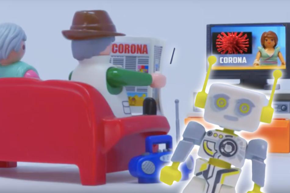 Video wird zum Netz-Hit: So erklären Playmobil-Männchen die Corona-Lage