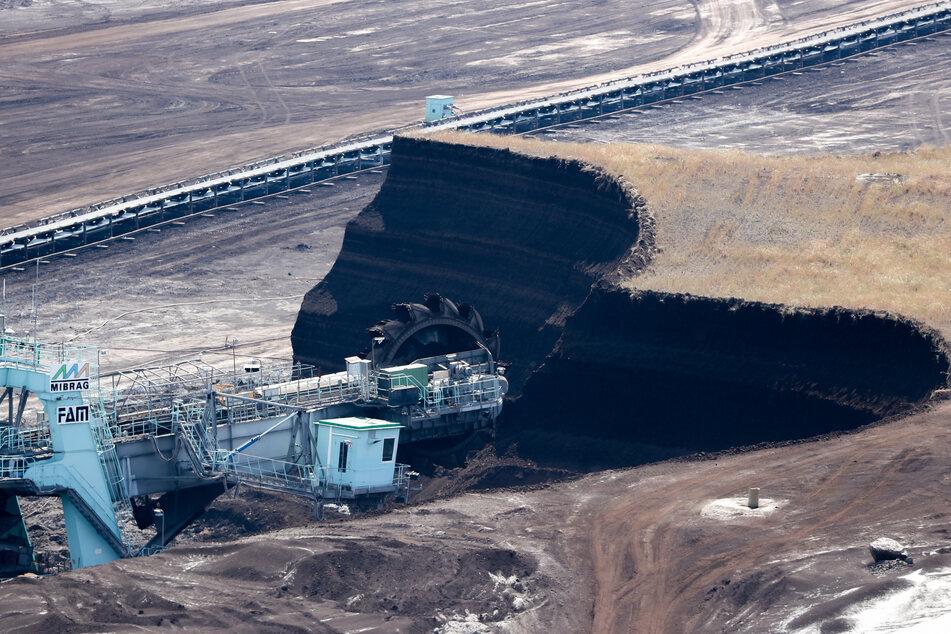 Arbeiten im Tagebau Vereinigtes Schleenhain: Das Mitteldeutsche Revier soll sich bis Ende des nächsten Jahrzehnts zu einer wirtschaftlich starken Region zu entwickeln.