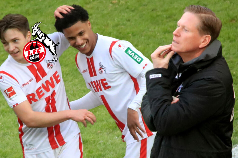 1. FC Köln: Markus Gisdol lacht nach bitterem BVB-Remis über Endspiel-Frage