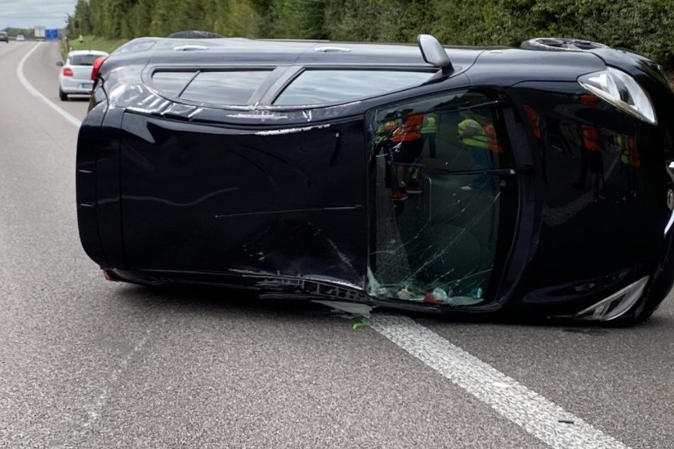 Unfall A81: Sechs Menschen bei Unfall auf A81 verletzt: Langer Rückstau