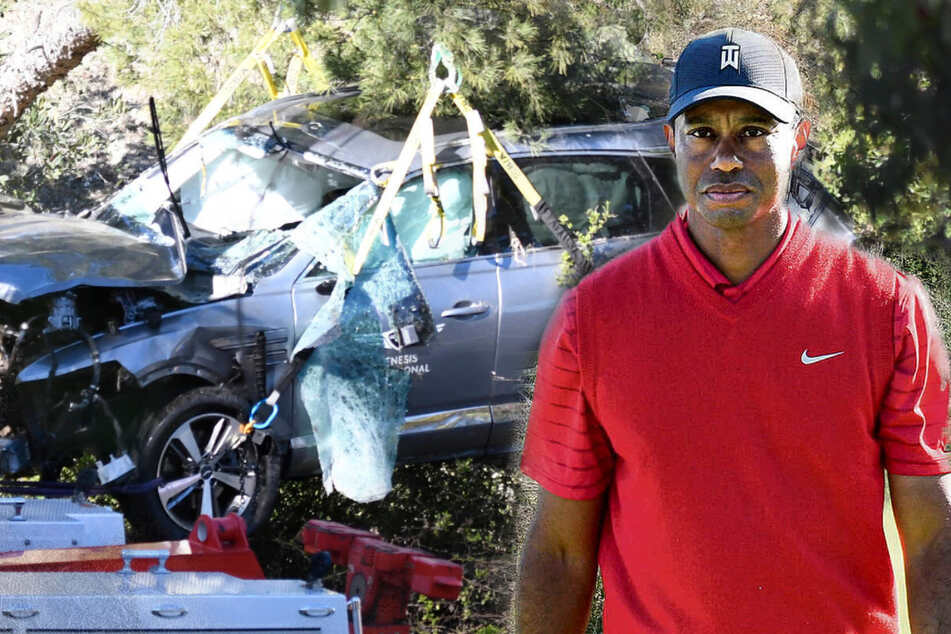 Questions over Tiger Wood's car crash: why didn't the golf star brake?