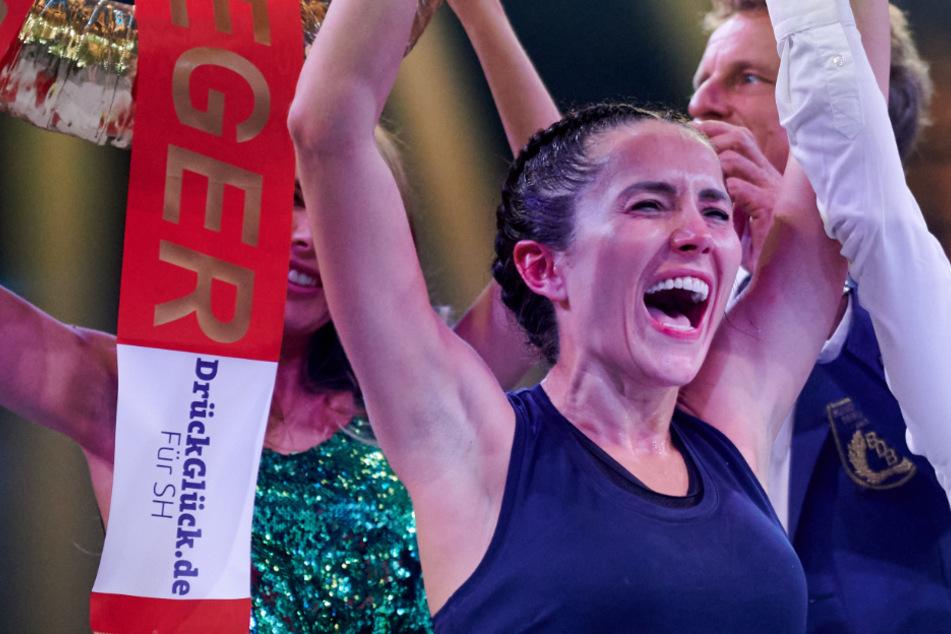 Überraschungs-Sieg beim Promiboxen: Anastasiya Avilova haut Elena Miras um