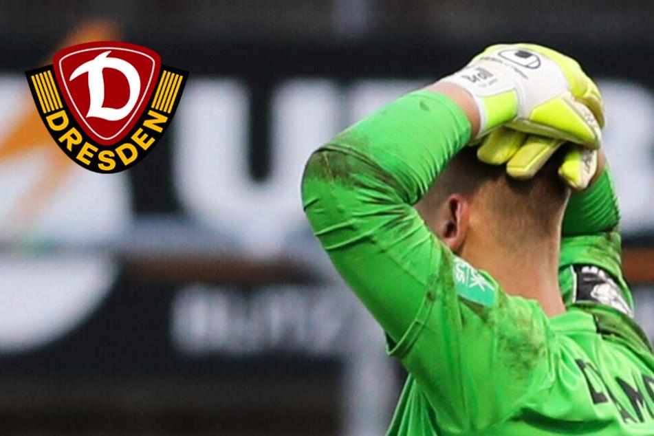 """Dynamo-Keeper Broll dankt nach Patzer den Mitspielern: """"Haben mir aus der Patsche geholfen""""!"""
