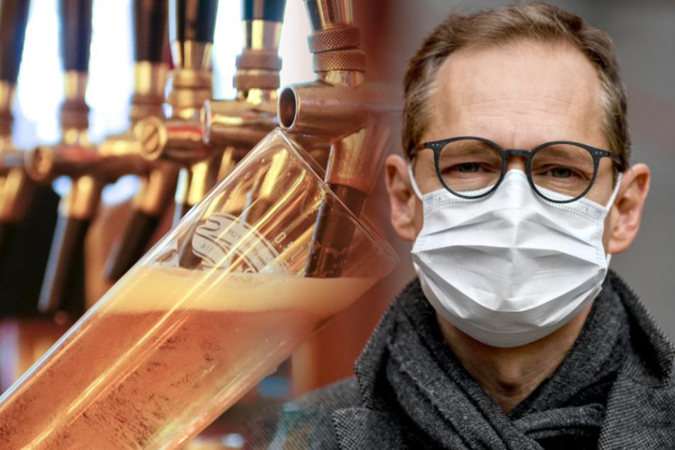 Michael Müller hat sich ebenfalls für ein Alkoholverbot ausgebrochen.