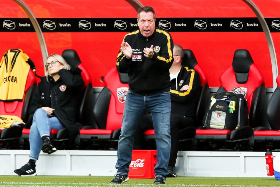 """""""Fußball ist unser Job, und den wollen wir so lange ausführen, wie es nur geht"""", sagt Dynamo-Trainer Markus Kauczinski."""
