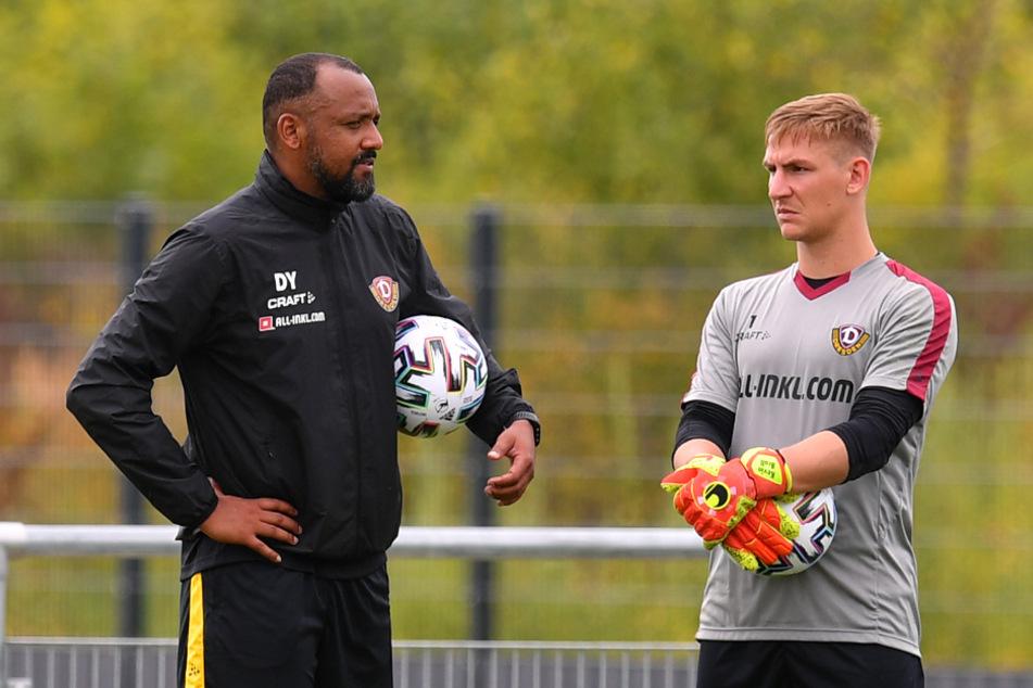 Wiedervereint bei Dynamo: David Yelldell (l.) und Kevin Broll.