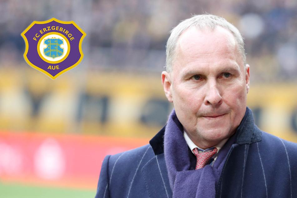 Coronavirus: Aue-Boss Leonhardt rechnet mit Abbruch der Fußball-Saison