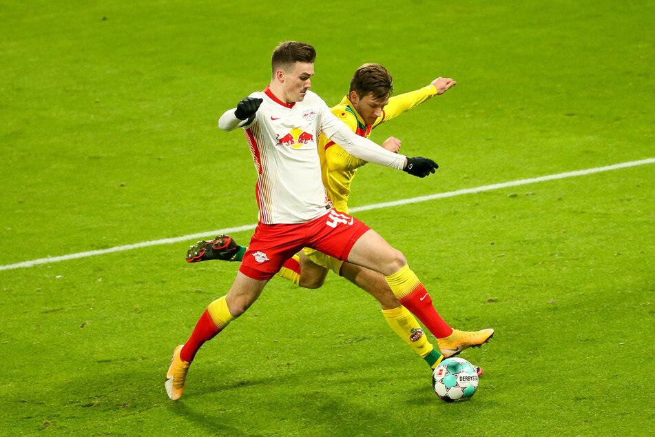 Dennis Borkowski (19) kam bisher zu zwei Kurzeinsätzen bei den RB-Profis, unter anderem gegen den 1. FC Köln.