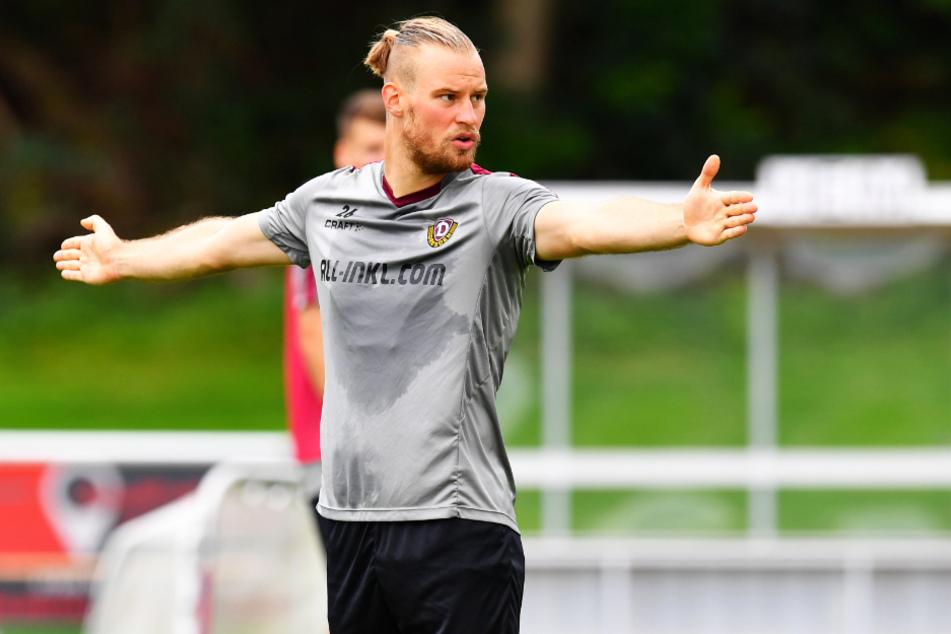 Gibt auch im Training den Ton an: Sebastian Mai hat sich während der Vorbereitung bereits als Führungsspieler etabliert.
