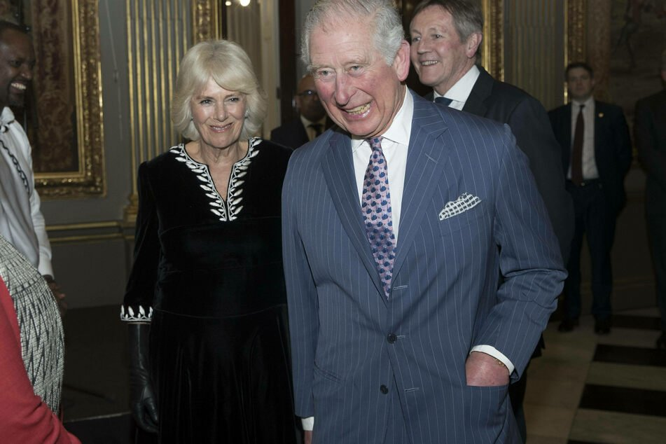 Camilla and Charles have been married since 2005.
