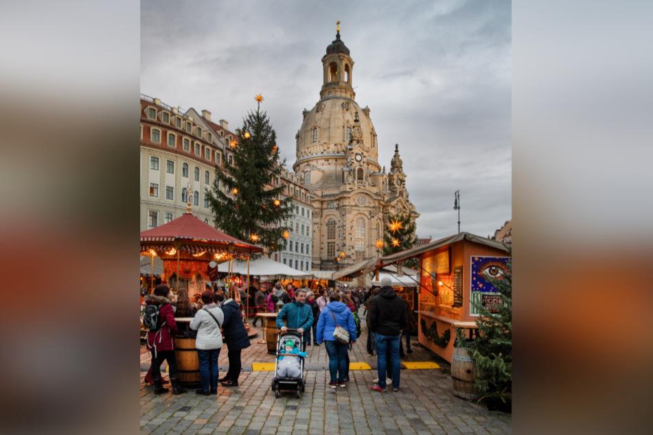 Wirtschaftlich sind die kleineren Weihnachtsmärkte, wie hier an der Frauenkirche, nicht mehr durchführbar. Abgesagt sind sie jedoch noch nicht.
