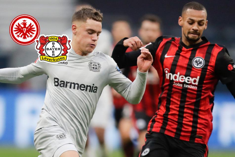 Hammer im Meisterschaftskampf: Leverkusen patzt bei Eintracht Frankfurt!