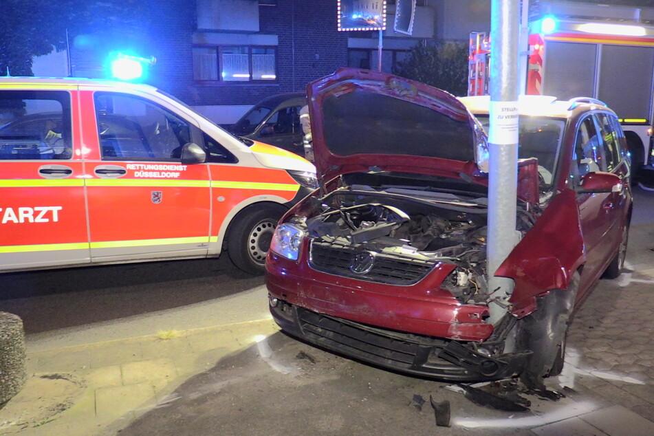 Alle fünf Insassen des VW wurden verletzt, die Beifahrerin sogar schwer.