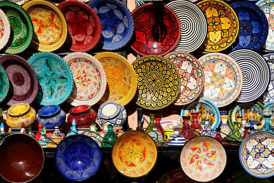 Allerhand aus Keramik gibt es am Wochenende in Bad Schandau zu entdecken.
